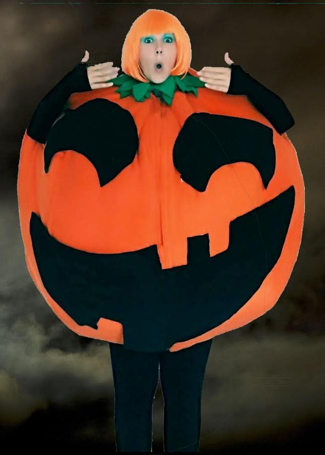 Scary Pumpkin Tasha Glew North Yorkshire