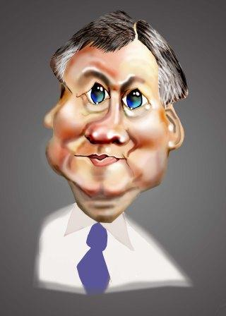 Caricatures by Scott Jones-McMahon