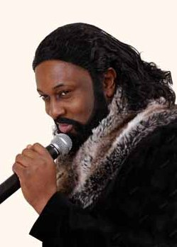 Shenton Dixon as Barry White Tribute