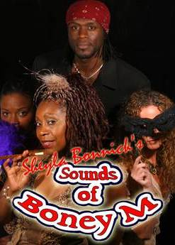 Sounds of Boney M with Sheyla Bonnick is now available for bookings