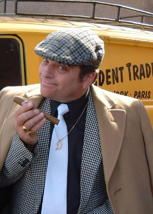 Steve Rooney as Del Boy, Only Fools and Horses,  is now available through A.R.C. Entertainments