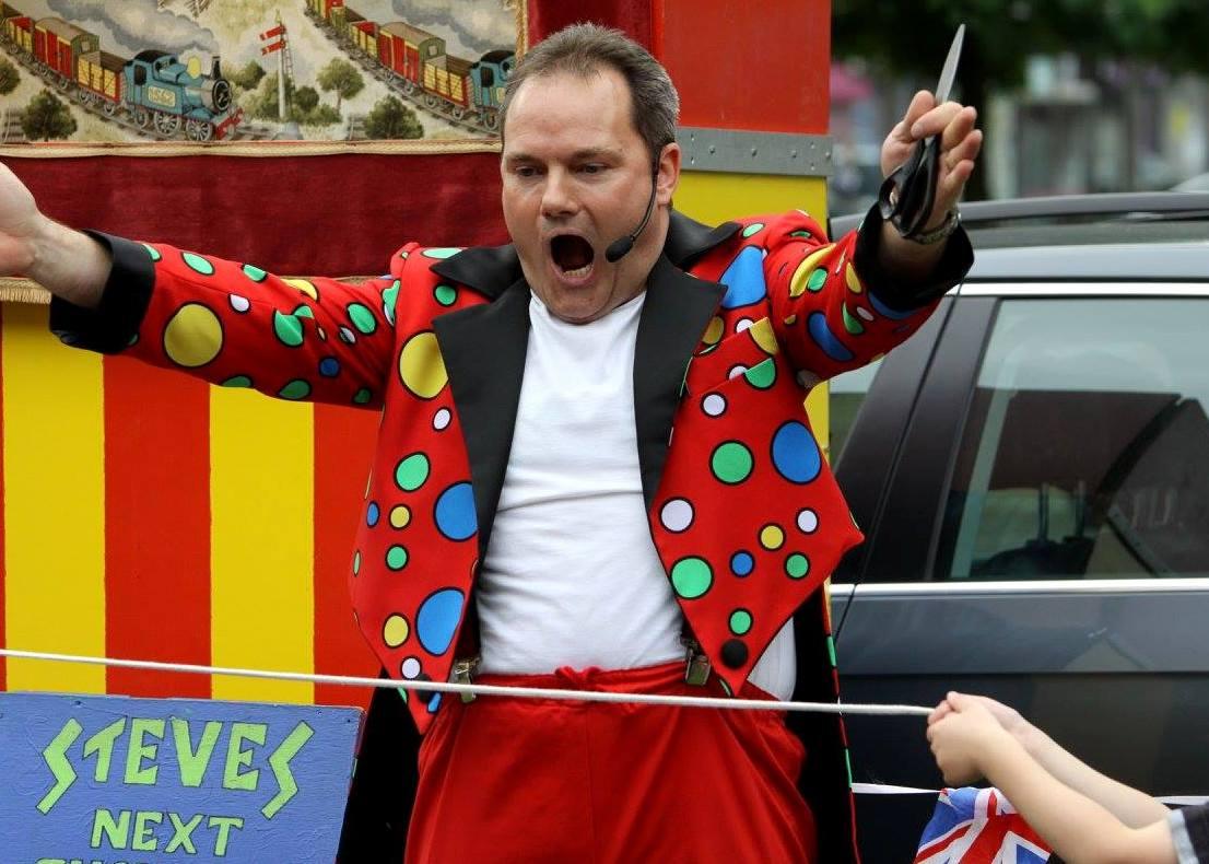 Steve Ashcroft Children's Magician Teesside