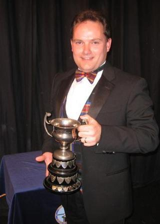 Magician Steve Ashcroft of Teesside