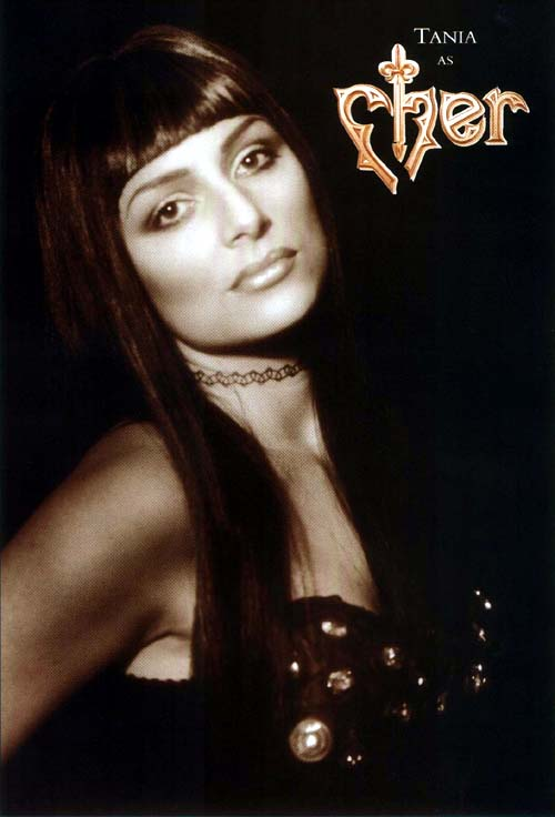 Tania Alboni as Cher Tribute Act