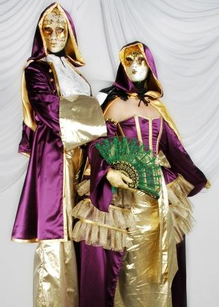 The Dream bring you their Venetian Masked Stilt walkers