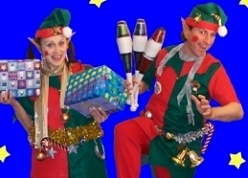 Christmas Elves by the Kempthornes