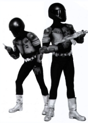 Robotic Mime Performers by the Kempthornes