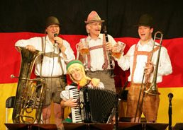 The Oompah Band is based in Essex and available through A.R.C. Entertainments