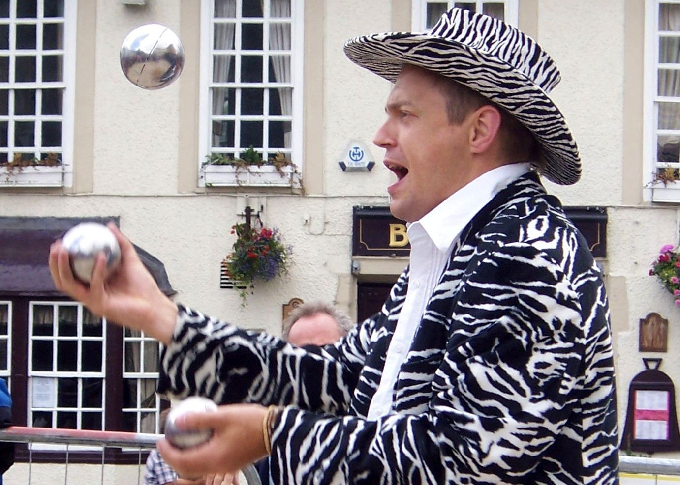 Thomas Trilby Juggler from Gloucestershire