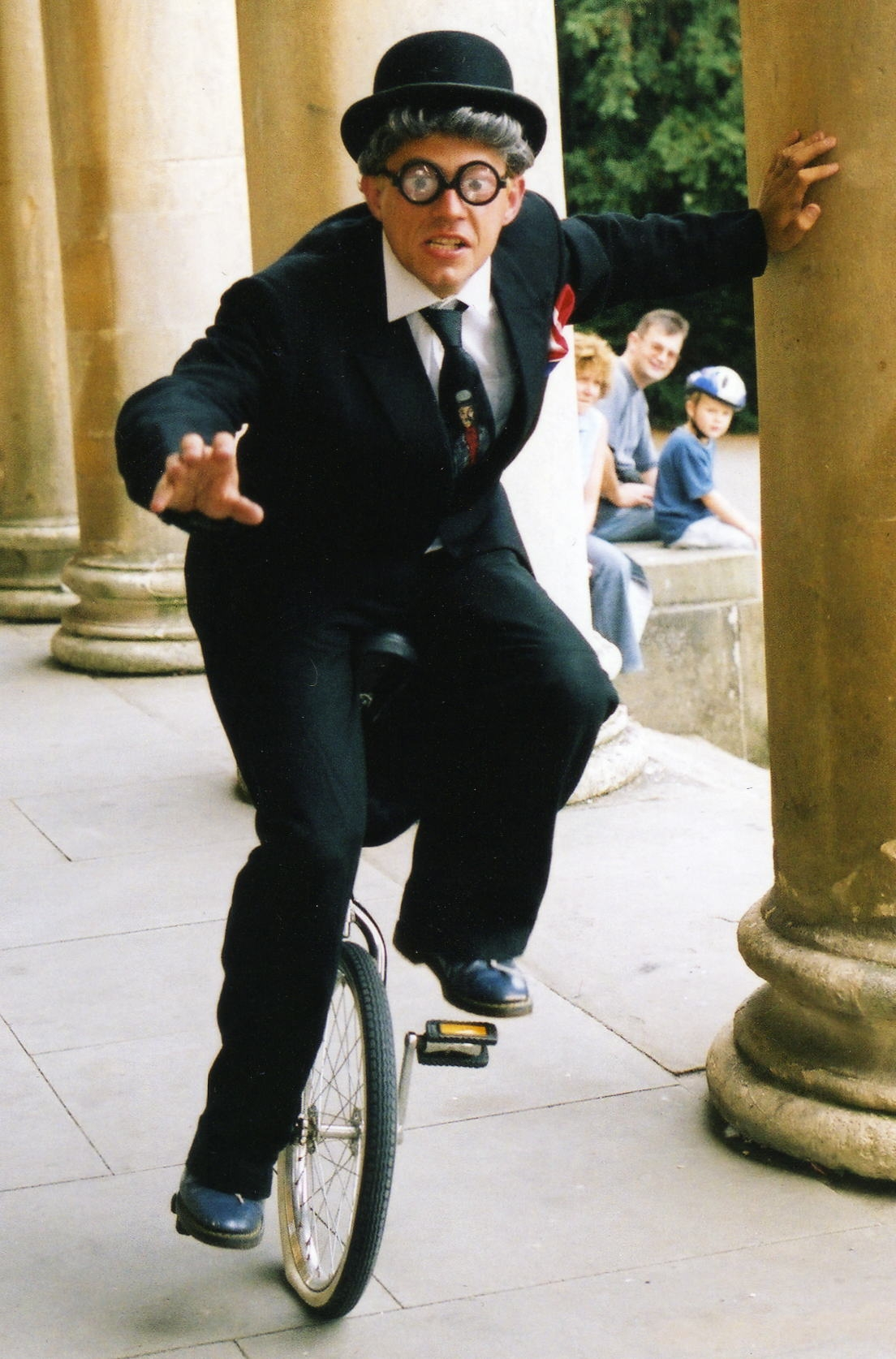 Thomas Trilby Unicyclist Juggler