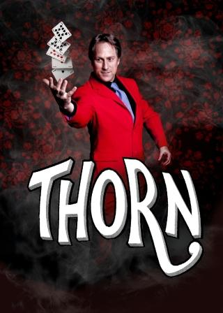 Allan Kempthorne as 'Thorn' Close up Magician