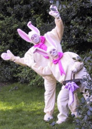 Easter Bunnies / aster Bunny, Rabbit(s) Walkabout by Upshot Circus