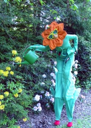 Stilt Walking Flower