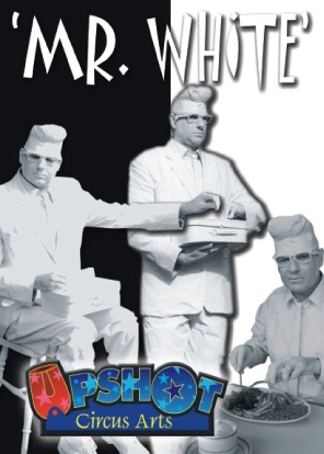 Mr White Human Statue