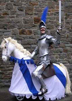 Gallant Knight on Horseback by Vertigo