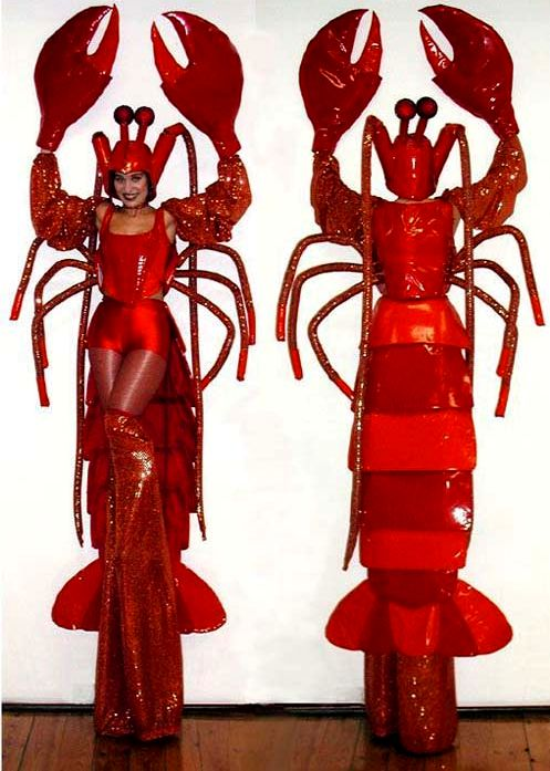 lobsters on stilts