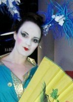 Geisha Walkabout by Vicky Armstrong of Tyne & Wear