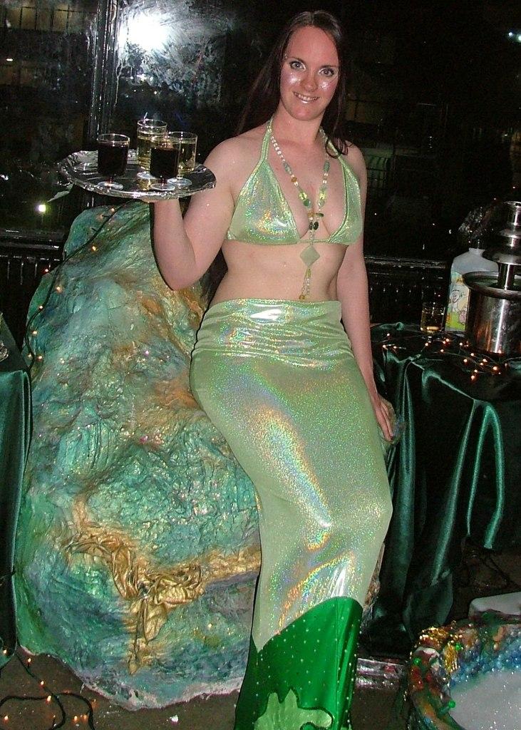 Mermaid Human Statue